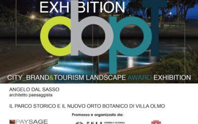 CityBrand&Tourism Landscape Award Exhibition, Myplant&Garden, 20 febbraio 2019, Rho Fiera.