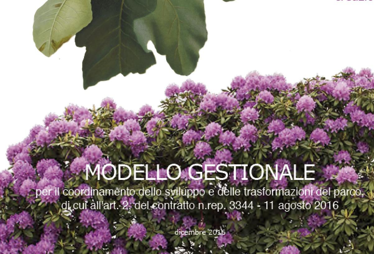 Modello gestionale Orto Botanico Villa Olmo